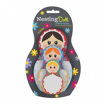 Nesting Dolls Sticky Notes