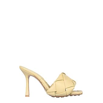 Bottega Veneta 608854vbss09483 Dames's Beige Leather Sandals