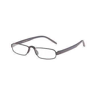 Gafas de lectura Unisex Le-0163B Notario Fuerza Marrón +2,00