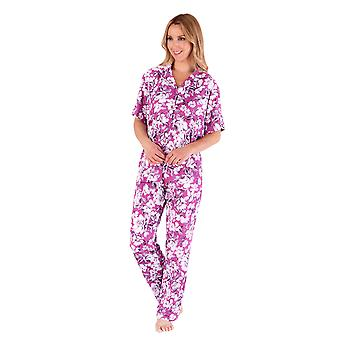 Slenderella Gaspé GL66703 Women's Floral Pyjama Set