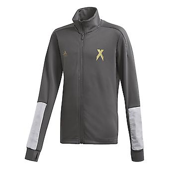 Adidas Boys Aeroready Football-inspired Track Jacket