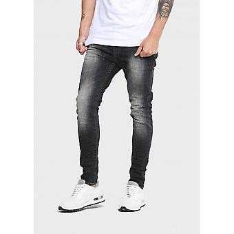 883 Police Moriarty Regular Fit Dark Grey Jeans