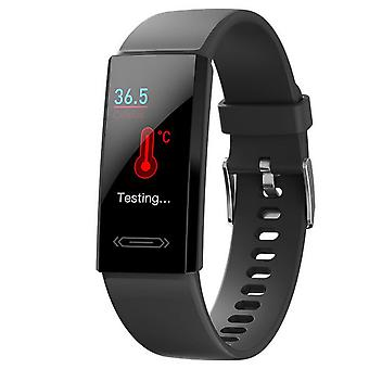 Activity bracelet with USB charging - Black