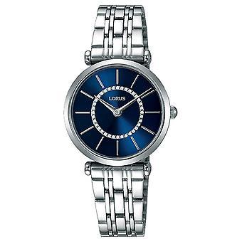 Lorus Women's Stainless Steel Bracelet Blue Dial RRW97EX9 Watch