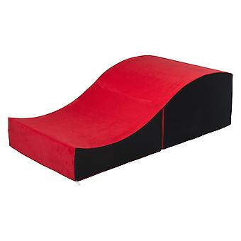 Sex sofa foldable Red & black
