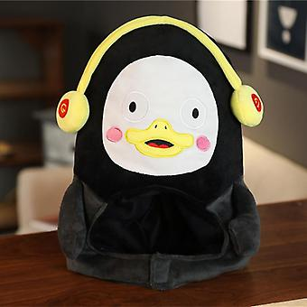 Fluffy Cute Penguin Design Warm Cap/headgear