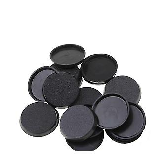 60pcs / 32mm Round Bases For Miniature, Wargames Table Game