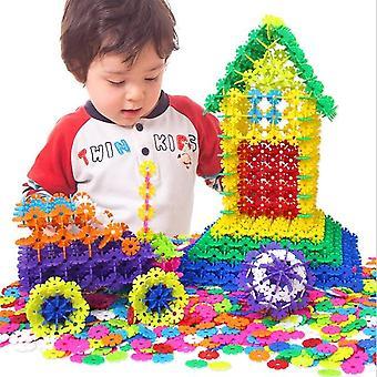 Jigsaw Plastic, Snowflake Building 3d Puzzle - Construction créative