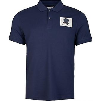 Kent And Curwen Small Rose Pique Polo