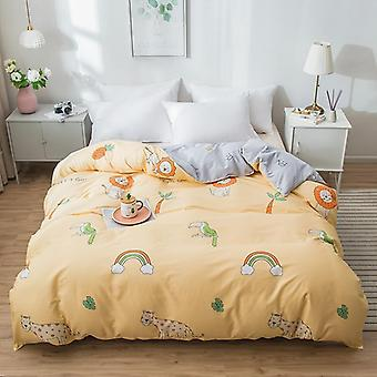 dual-sided Duvet Cover  soft Comfortable Cotton Printing Comforter -textiles Quilt Cover set 10