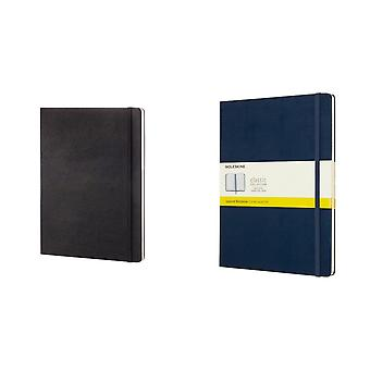 Moleskine Classic XL Hard Cover Squared Notebook