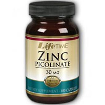 Life Time Nutritional Specialties Zinc Picolinate, 30 mg, 100 caps