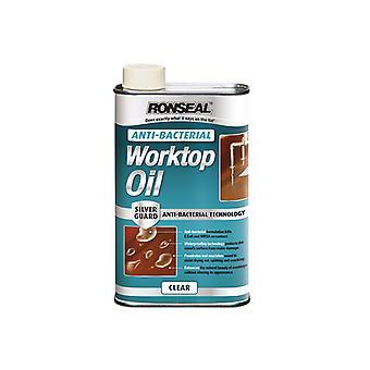 Ronseal Anti-Bacterial Worktop Oil 1 Litre RSLABWO1L