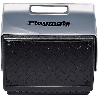 "IGLOO Playmate ""The Boss"" 14 qt. Hard Cooler - Black/Silver"