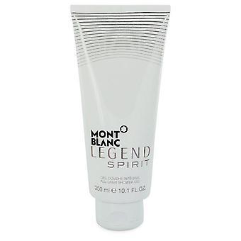 Gel douche esprit légende Montblanc par mont blanc 546301 299 ml