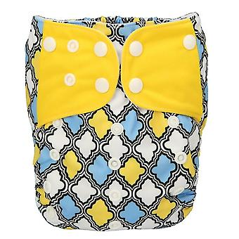 Baby Pocket Cloth Diaper, One Size Os Reusable Washable No Inserts Nappy
