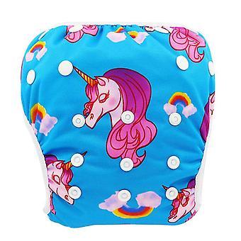 Baby Swim Waterproof Adjustable Cloth Diapers, Pool Pant Cover