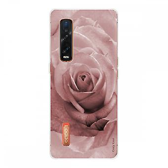 Hull For Oppo Find X2 Pro In Silicone Soft 1 Mm, Pink In Pastel Color