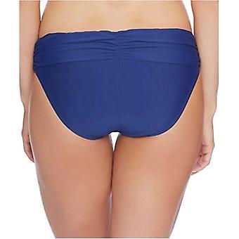 Athena - Cabana Solids Lani Banded Bikini Bottom Navy
