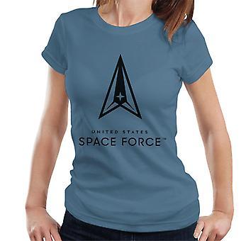 U.S. Space Force Clear Logo Dark Text Women's T-Shirt