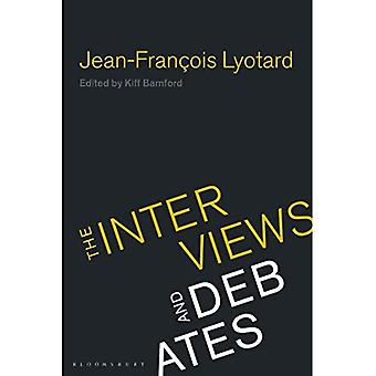 Jean-Francois Lyotard: De interviews en debatten