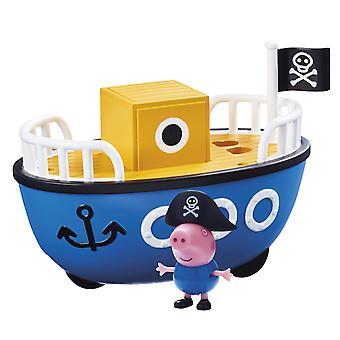 Peppa Pig - Grandpa Pigs Boat with George Pig