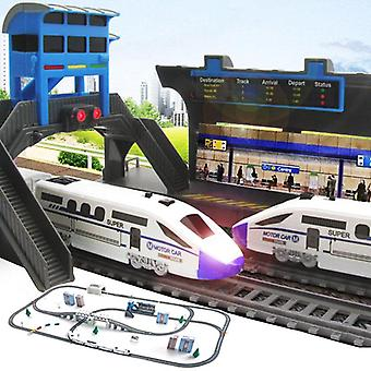 Electric Train Toy Set