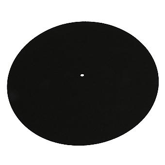 Turntable Slipmat Anti-vibration Turntable Sheet Switchmat Black Color