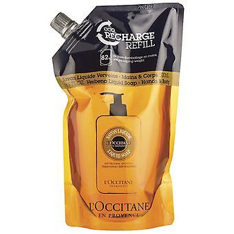 L'Occitane Shea Verbena Liquid Soap Eco Refill