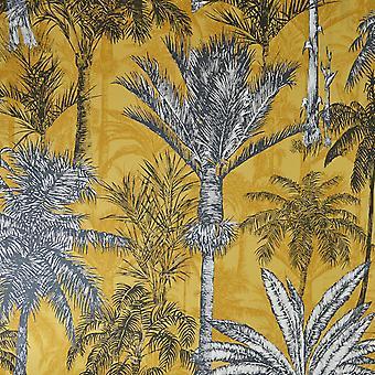 Grandeco Hawaiian Palm Ochre