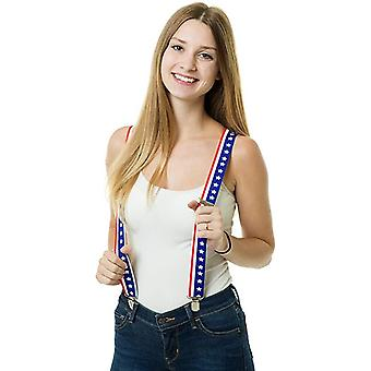 Shenky High Quality 4 Clips USA Suspenders