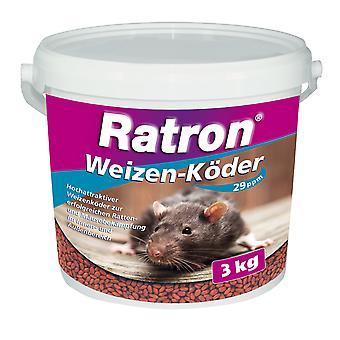 FRUNOL DELICIA® راترون® القمح إغراء 29 جزء في المليون، 3 كجم