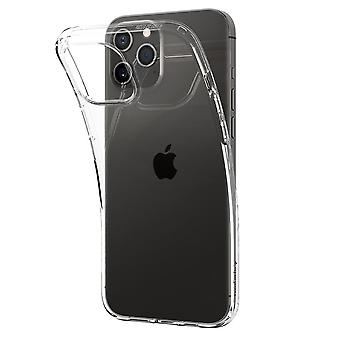 Case Voor iPhone 12 / IPhone 12 Pro (6.1) Transparant Siliconen, Liquid Crystal