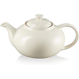 Le Creuset Enamelled Stoneware Classic Teapot, 1.3 Litres, Serves 3-4 Cups
