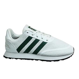 Adidas Originals N-5923 White Green Low Lace Up Kids Trainers CG6963
