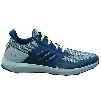 Adidas Sport RapidaRun Kids Running Trainers Blue Lace Up Shoes D96998