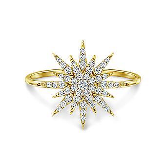 Anillo Super Nova 18K Oro y Diamantes
