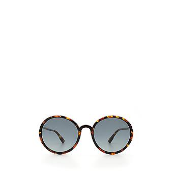 Dior SOSTELLAIRE2 yellow havana female sunglasses