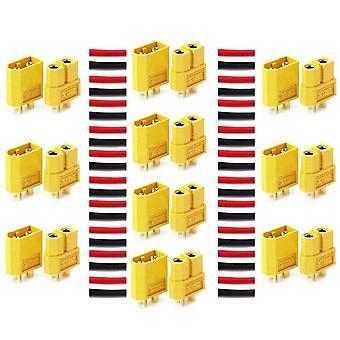 Hochwertige xt60-Steckverbinder, männlich-weiblich, lipo rc Modellierung Batterie-Steckverbinder, 10 Paare