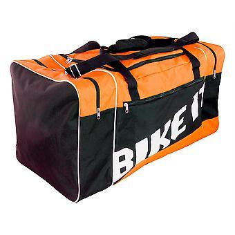 Bike It Motocross Track Day Kit Bag 90L Capacity Orange