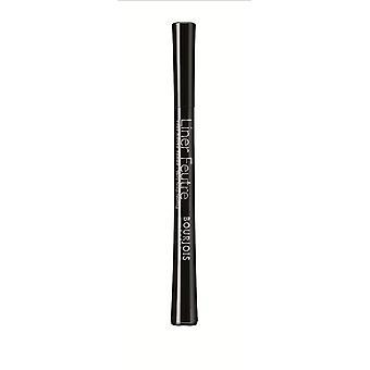 2 x Bourjois Liner Feutre Felt-Tip Very Long Lasting Eyeliner 11 Noir 0.8ml