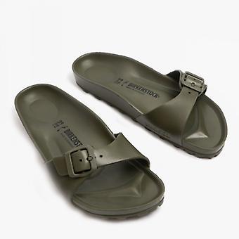 Birkenstock Madrid 1019455 (nar) Ladies Eva One Strap Sandals Khaki