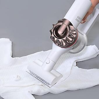 Xr handheld stofzuiger voor thuis draadloos snoerloos tapijt (wit)