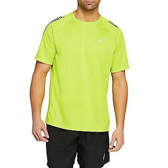 Asics Kuvake Lyhythihainen Miesten Juoksu Fitness Training T-paita Tee Vihreä