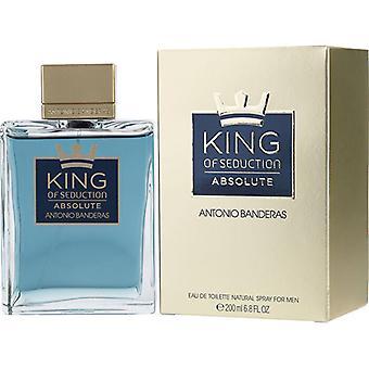 Antonio Banderas King Of Seduction Absolute Eau De Toilette Spray 200ml/6.8oz