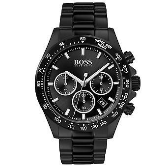 Hugo Boss 1513754 Sort Hero Sports Herre Watch