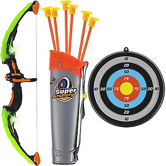 Children's Flashing Bow And Arrow Toys, Sports Shooting, Suction Cup Arrows