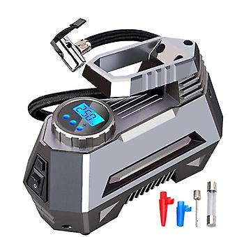 Portable Air Compressor Tire Inflator Pump With Digital Pressure Gauge & Bright