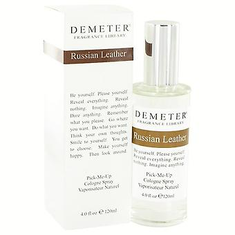 Demeter Russian Leather Cologne Spray By Demeter 4 oz Cologne Spray