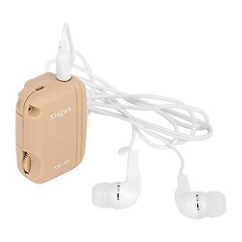 Aparaty słuchowe Xingma wygodne urządzenie wzmacniacza dźwięku głosowego xm-919 kieszonkowy aparat słuchowy audiphone